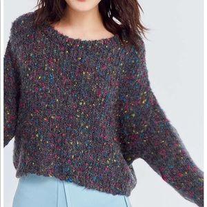 Ecote Rainbow flecked dolman sweater